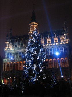 Big Christmas tree, Brussels